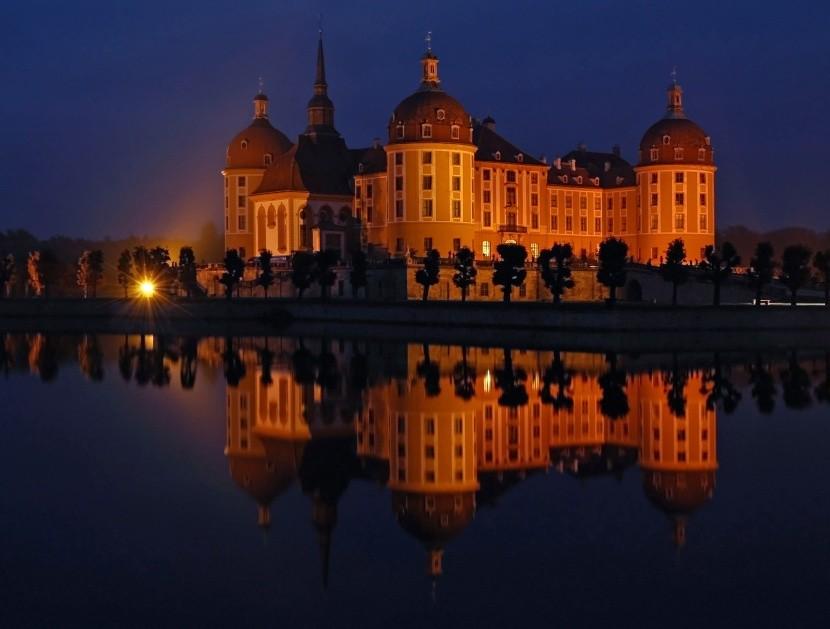 Tajuplný Moritzburg, sídlo Augusta