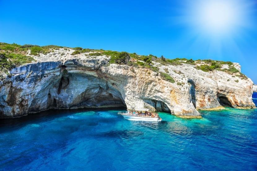 Modrá jeskyně, Zakynthos