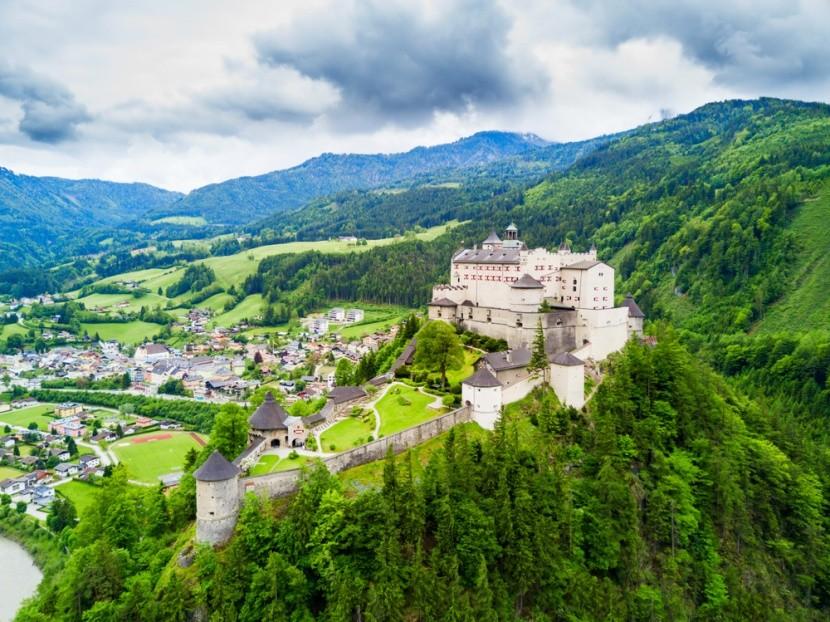 Hohenwerfen, Rakousko