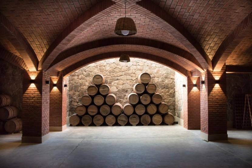 Vinný sklep v Tarija