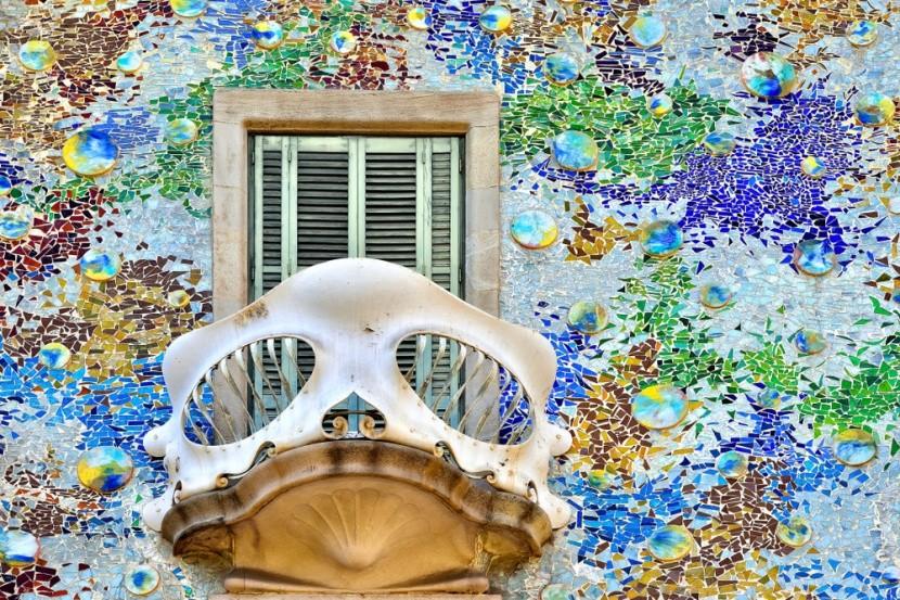 Casa Batlló – dům z kostí a duhy