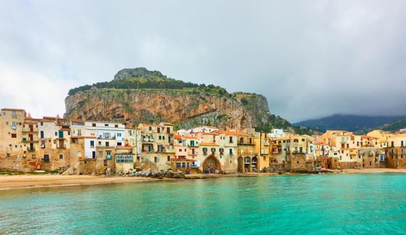 Cefalù, Sicílie