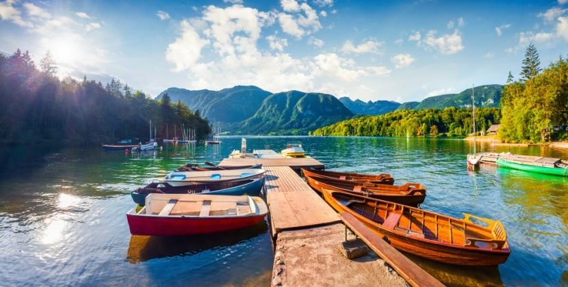 Nejkrásnější jezera Evropy