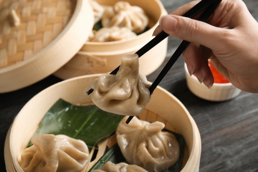 Čínské knedlíčky baozi