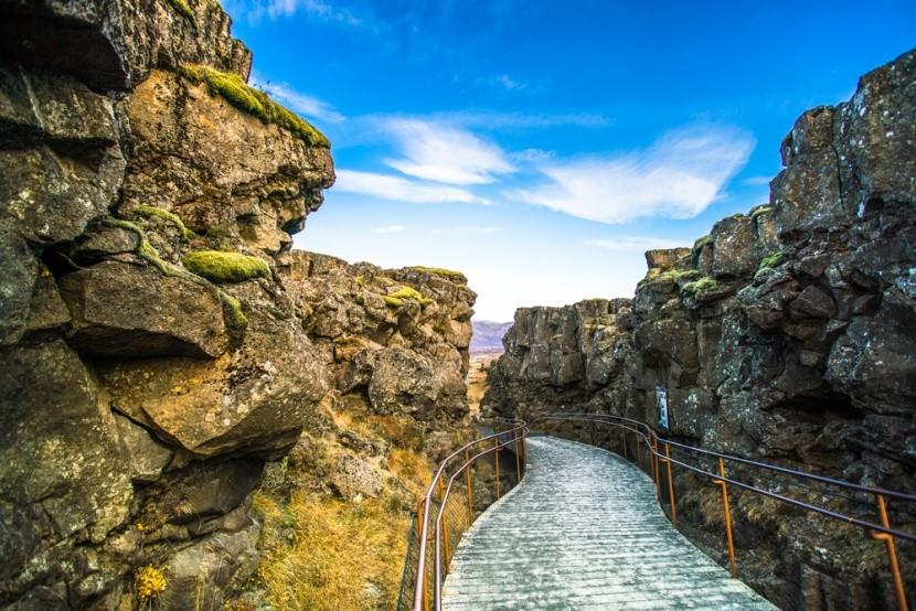 Národním park Þingvellir