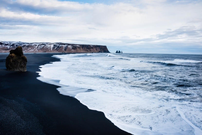 Černé pláže na Islandu