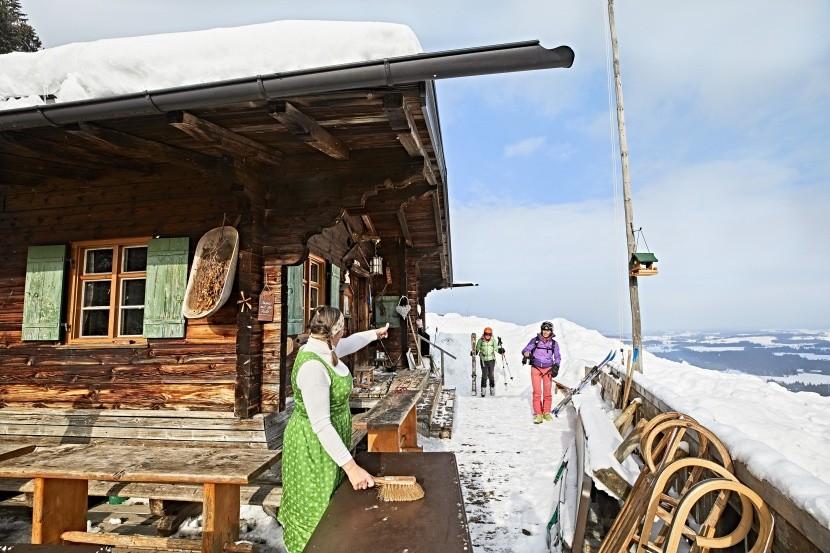 Zimní radovánky v Bavorsku