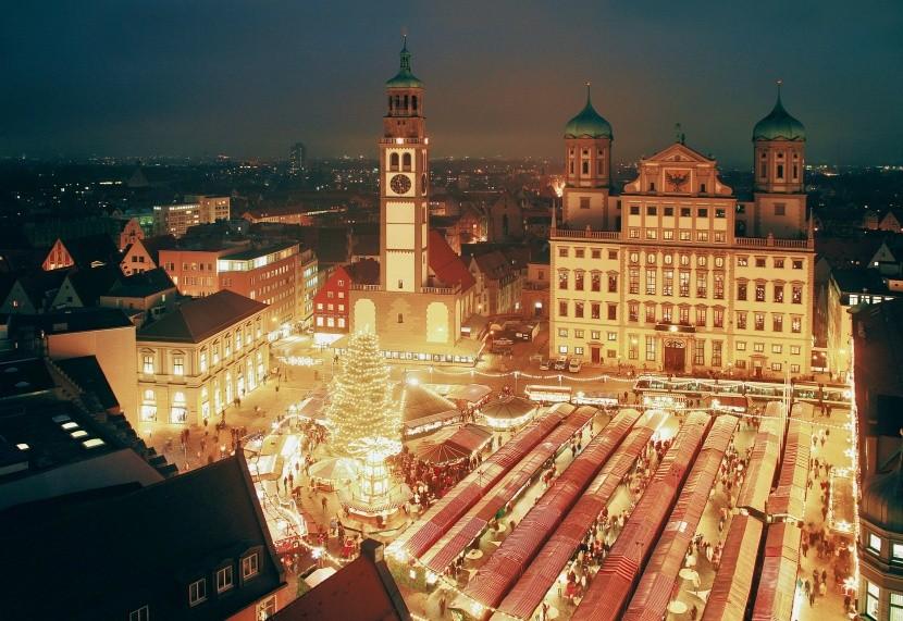 Tradiční vánoční trhy v Bavorsku