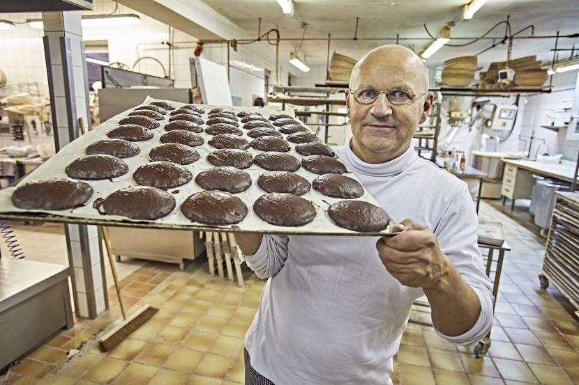 Mistr v nejstarší pekárně v Německu