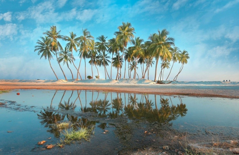 Salah Beach, ománský Karibik