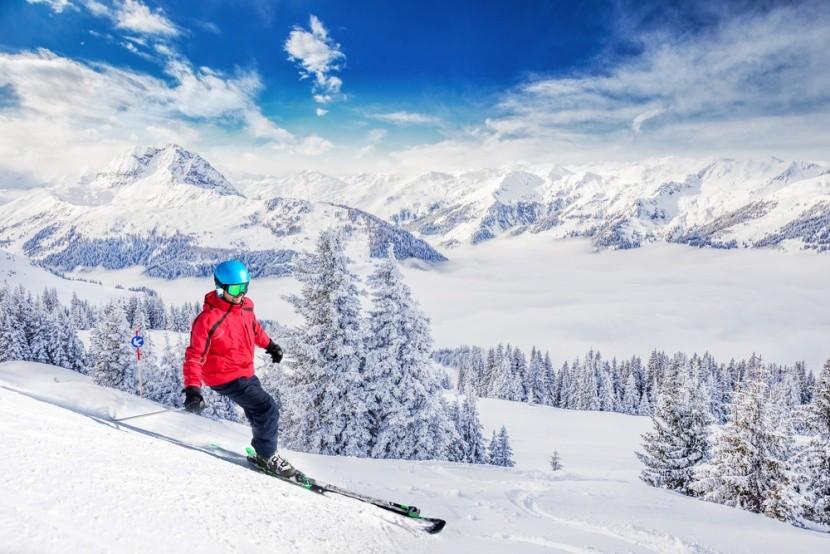 Nejlepší lyžařská střediska v Rakousku