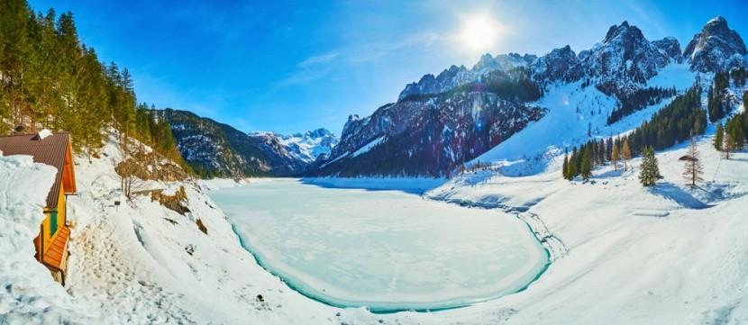 Jezero Gosausee, Dachstein West