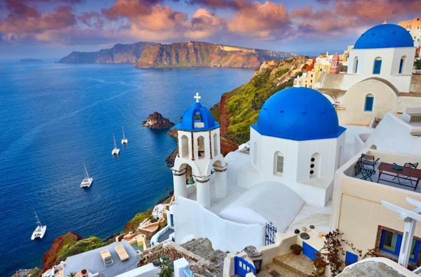 Řecký ostrov Santorini