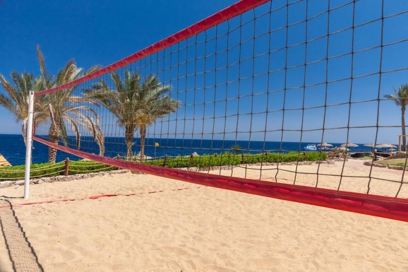 Beach volejbal v Egyptě