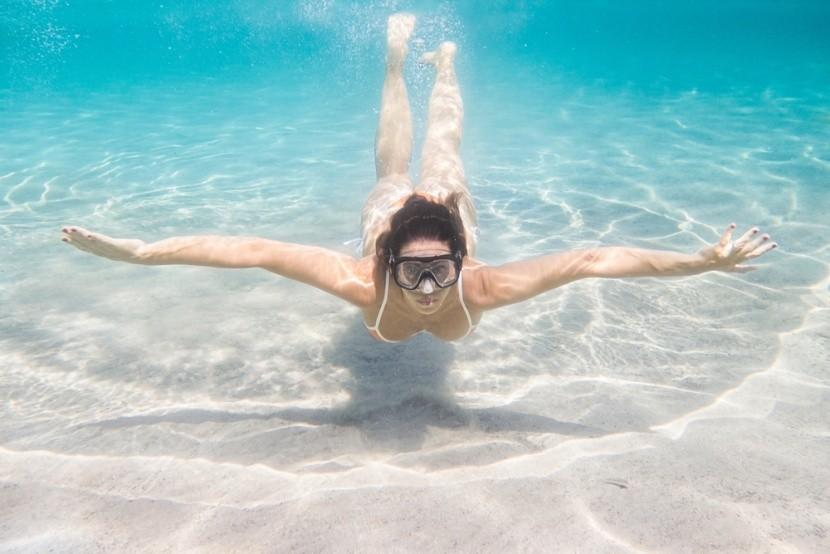 Plavání v Egyptě