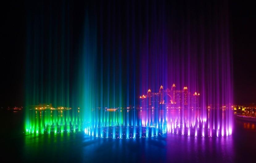 Největší taneční fontána na světě