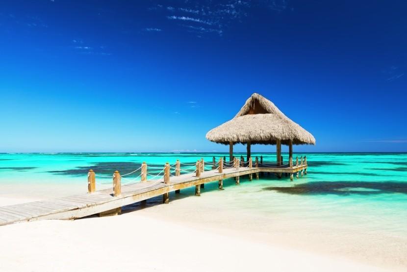 Tropická pláž, Dominikánská republika