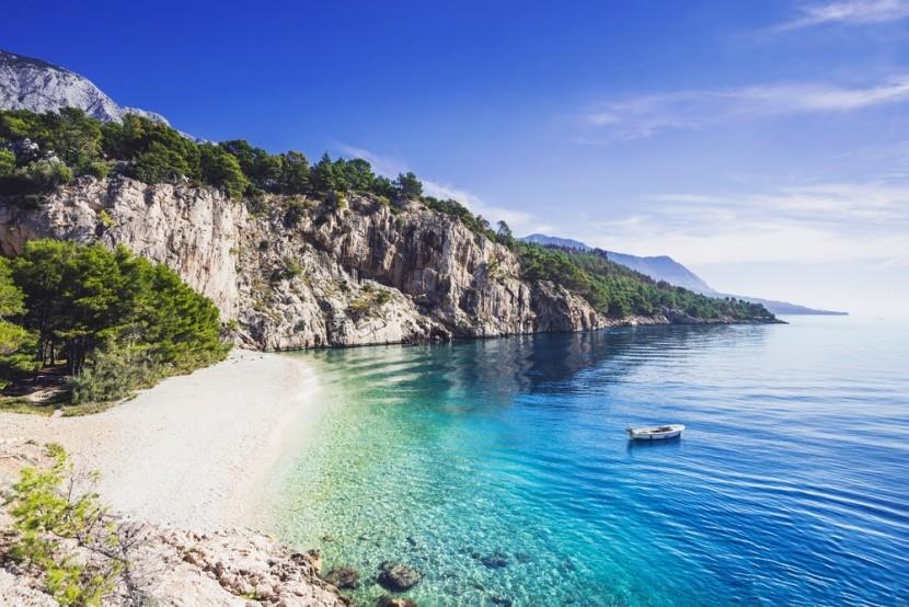 Makarska, Dalmácie, Chorvatsko
