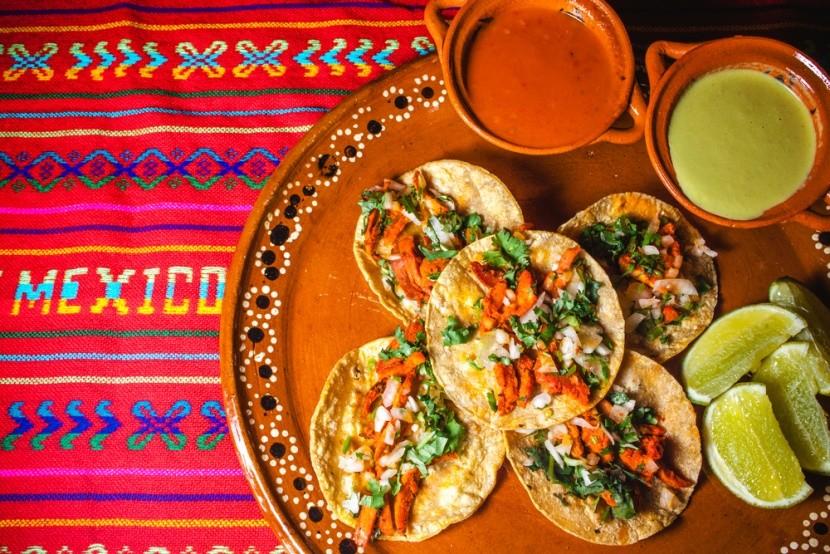 Tacos s kukuřičnou tortillou