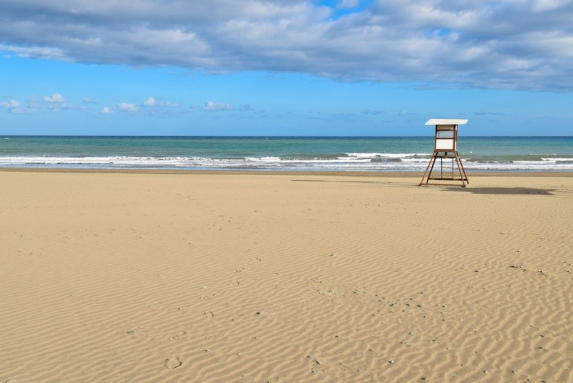 Pláž v letovisku San Augustin