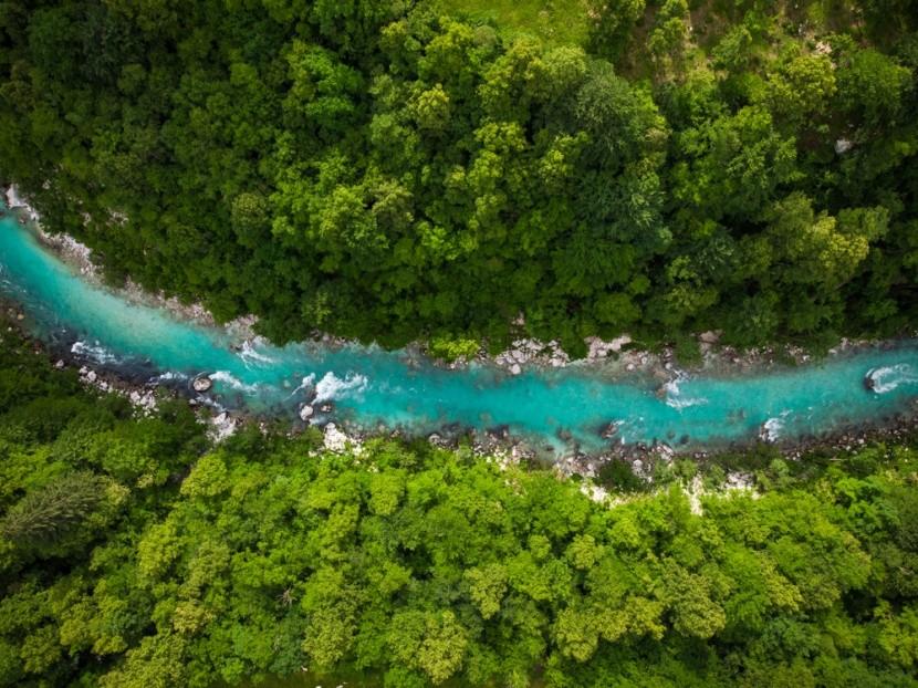 Řeka Soca