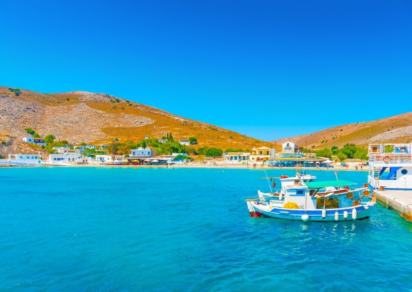 Pserimos, Řecko