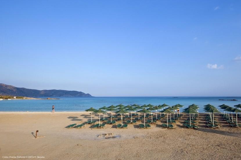Chania, pláž Elafonisi