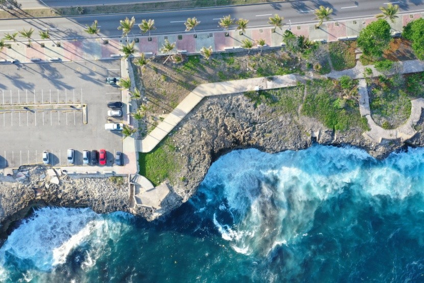 Část promenády Malecón