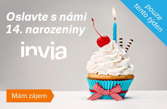 Soutěž k 14. narozeninám Invia