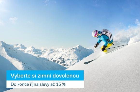 First Minute lyže se slevou až 15 %