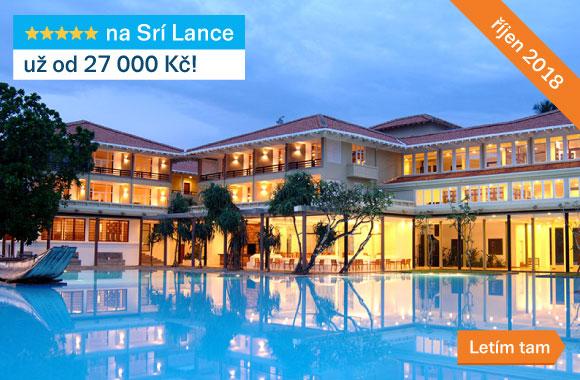 Sri Lanka od 27 000 Kč 20180731