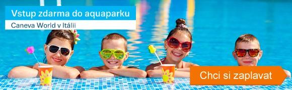 Aquapark Caneva World zdarma
