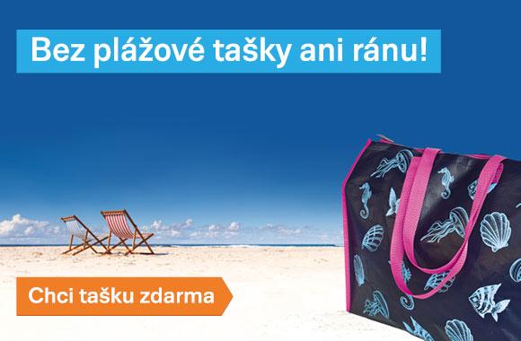 Taška zdarma k dovolené