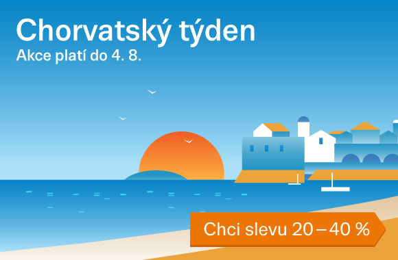 Chorvatsko sleva 20 - 40 %