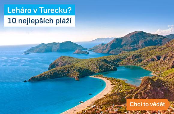 Turecko pláže