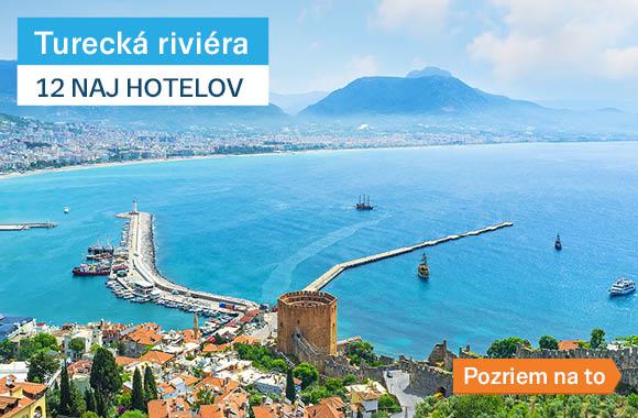 12 TOP Turecká riviera