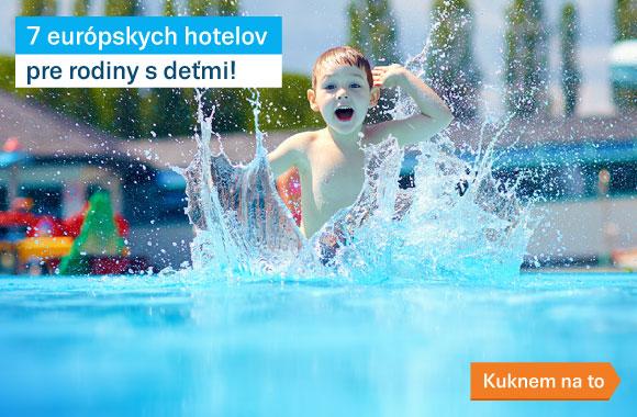Hotely pre deti