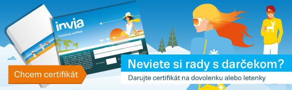 Invia certifikat