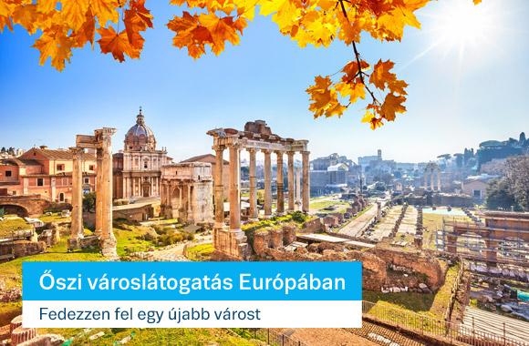 Európai városnéző hétvégék