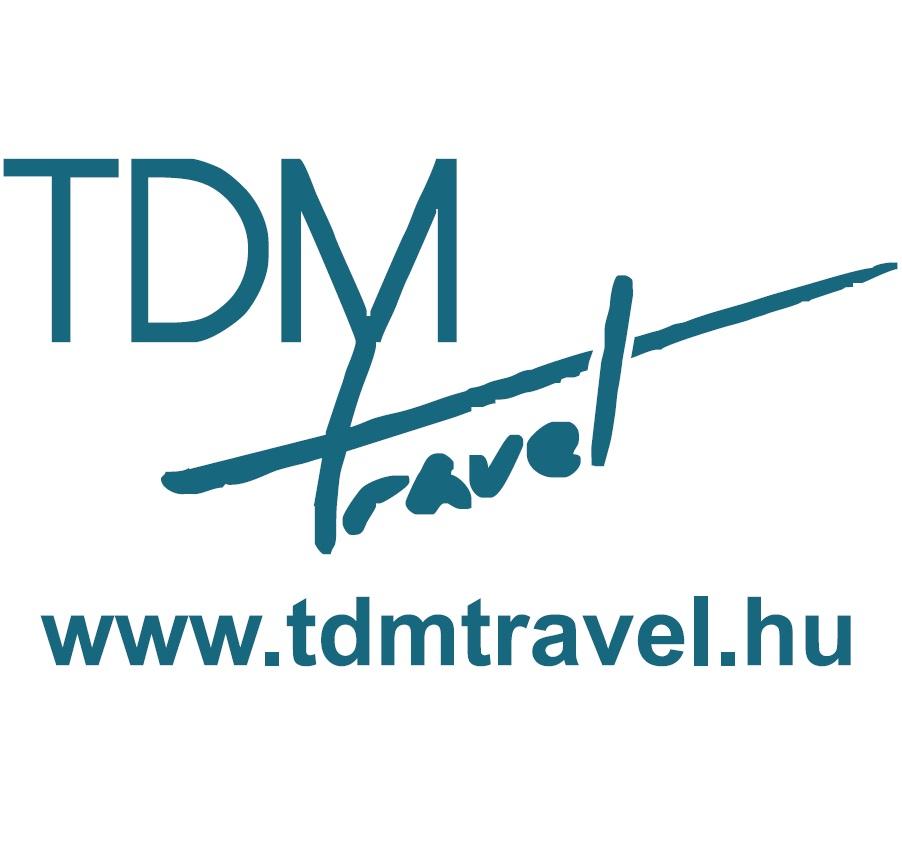 TdM travel logo
