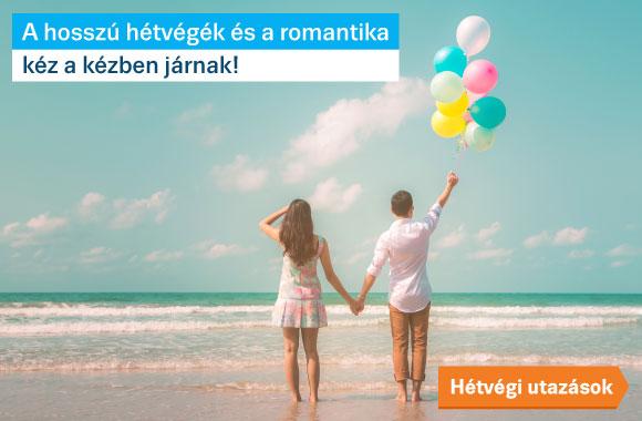romantikus hosszú hétvégék