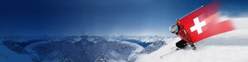 Lyžování a snowboarding ve Švýcarsku