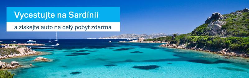 Získejte auto na celý pobyt na Sardinii zdarma