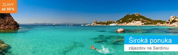 Zľavy na Sardíniu
