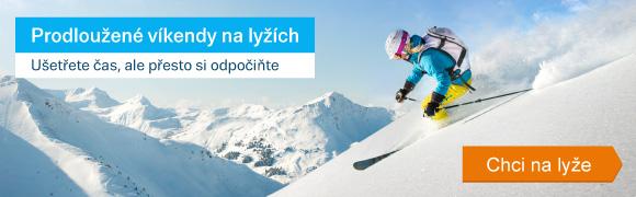 Prodloužené víkendy na lyžích