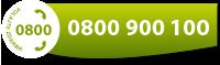 Volajte zadarmo 0800 900 100